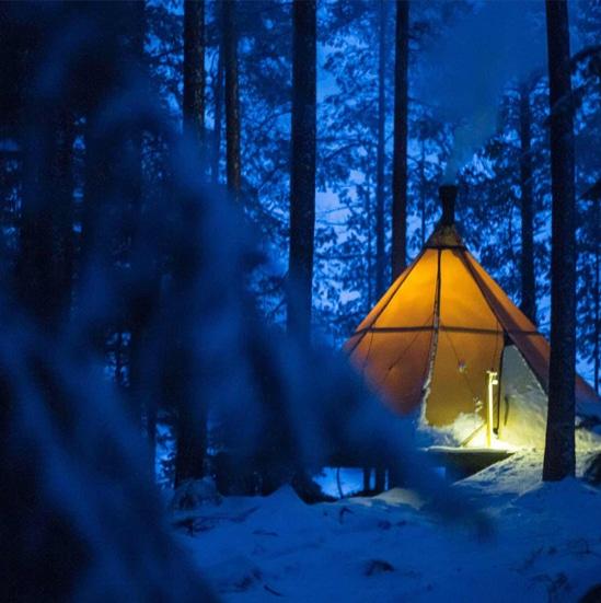 ORIGINAL GLAMPING - LUXURY CAMP WORLDWIDE - NUUK FJORD - CANADA - AURORA SAFARI CAMP - SWEDEN