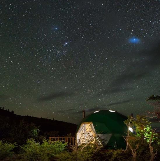 ORIGINAL GLAMPING - LUXURY CAMP WORLDWIDE - ECO CAMP PATAGONIA - CHILI