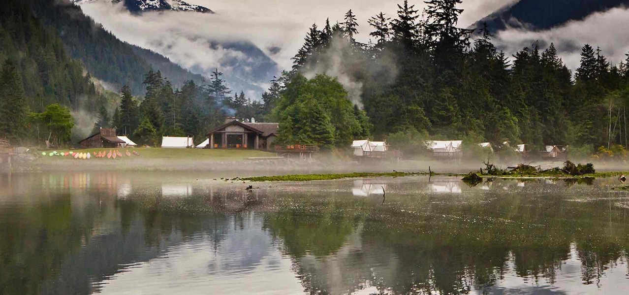 ORIGINAL GLAMPING - LUXURY CAMP WORLDWIDE - NUUK FJORD - CANADA - CLAYOQUOT WILDERNESS