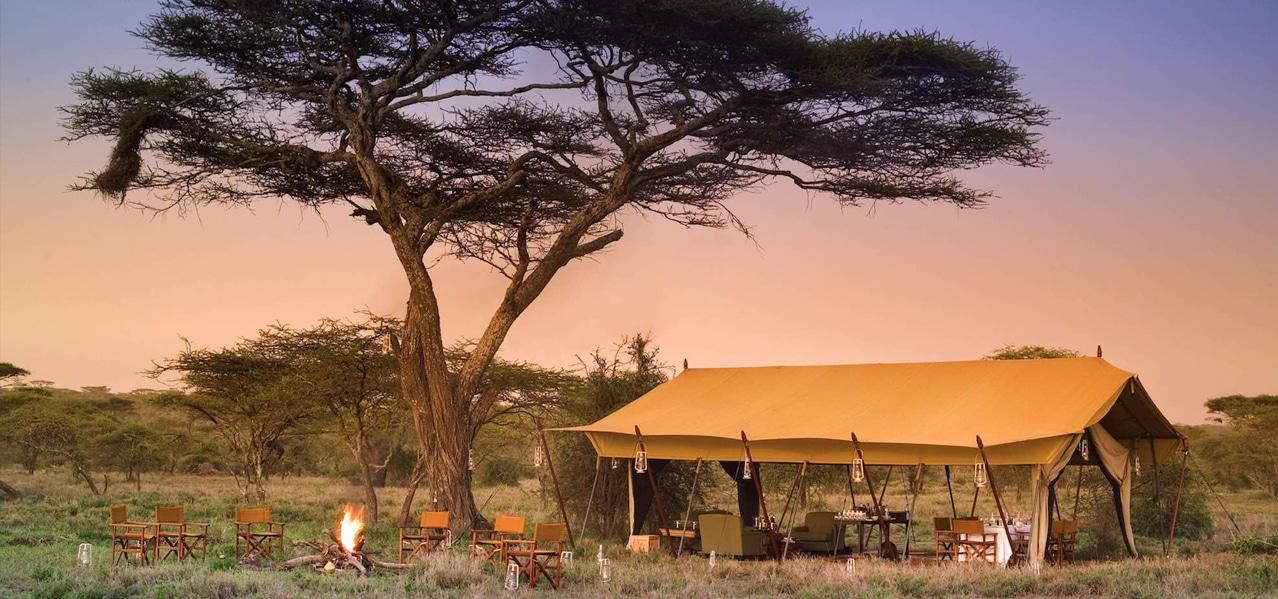 ORIGINAL GLAMPING - LUXURY CAMP WORLDWIDE - BEYOND SERENGETI UNDER CANVAS - TANZANIA