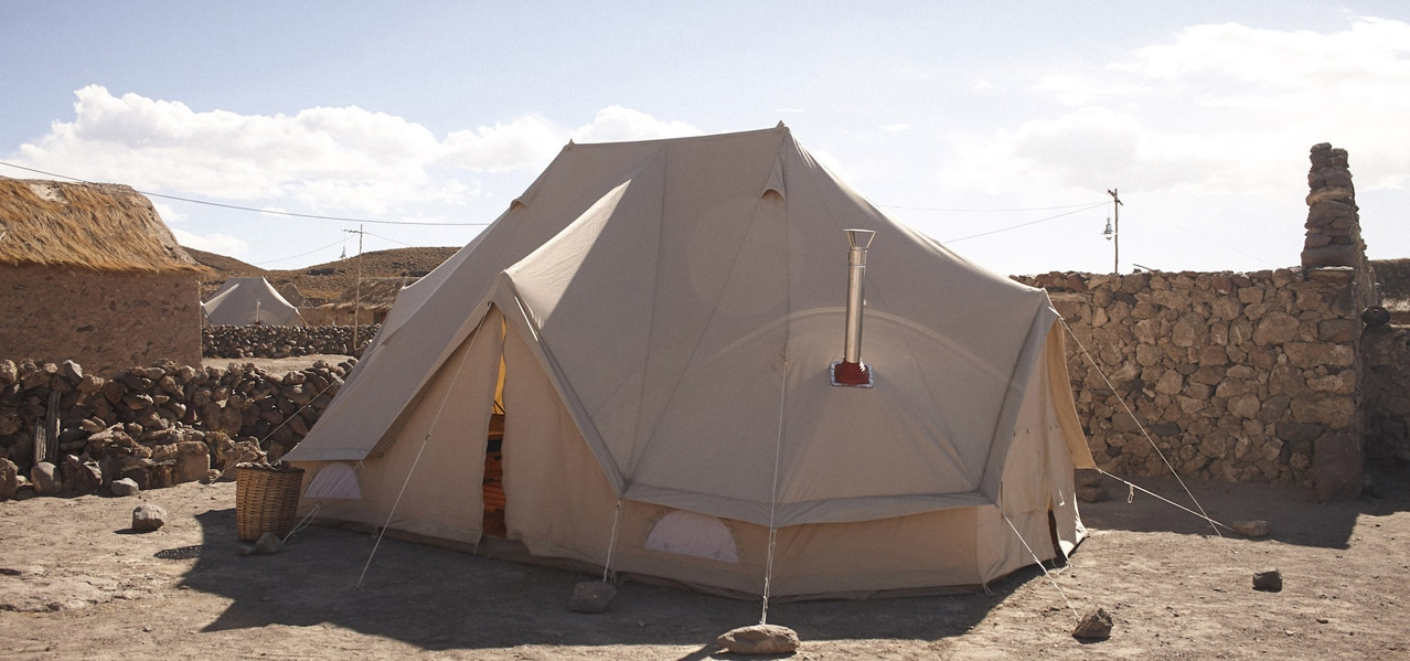 ORIGINAL GLAMPING - LUXURY EPHEMERAL CAMP WORLDWIDE - THE BELL TENT