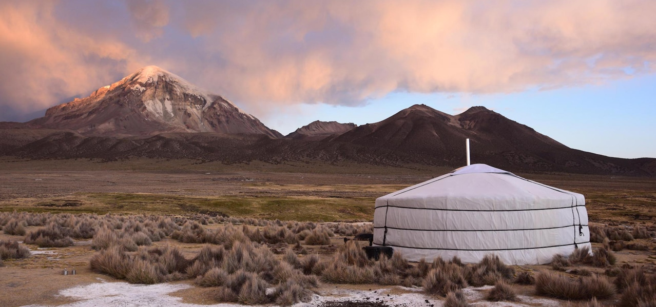 ORIGINAL GLAMPING - LUXURY EPHEMERAL CAMP WORLDWIDE - YURT TENT