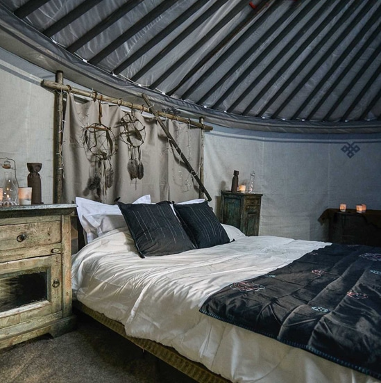 ORIGINAL GLAMPING - LUXURY CAMP WORLDWIDE - YURT TENT