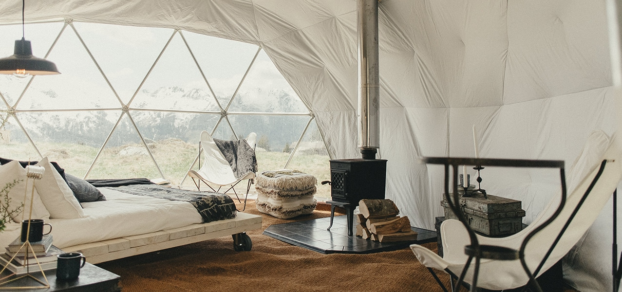 ORIGINAL GLAMPING - LUXURY CAMP WORLDWIDE - DOME CAMP